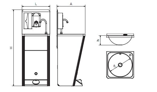 esquema lavamanso hidraulico