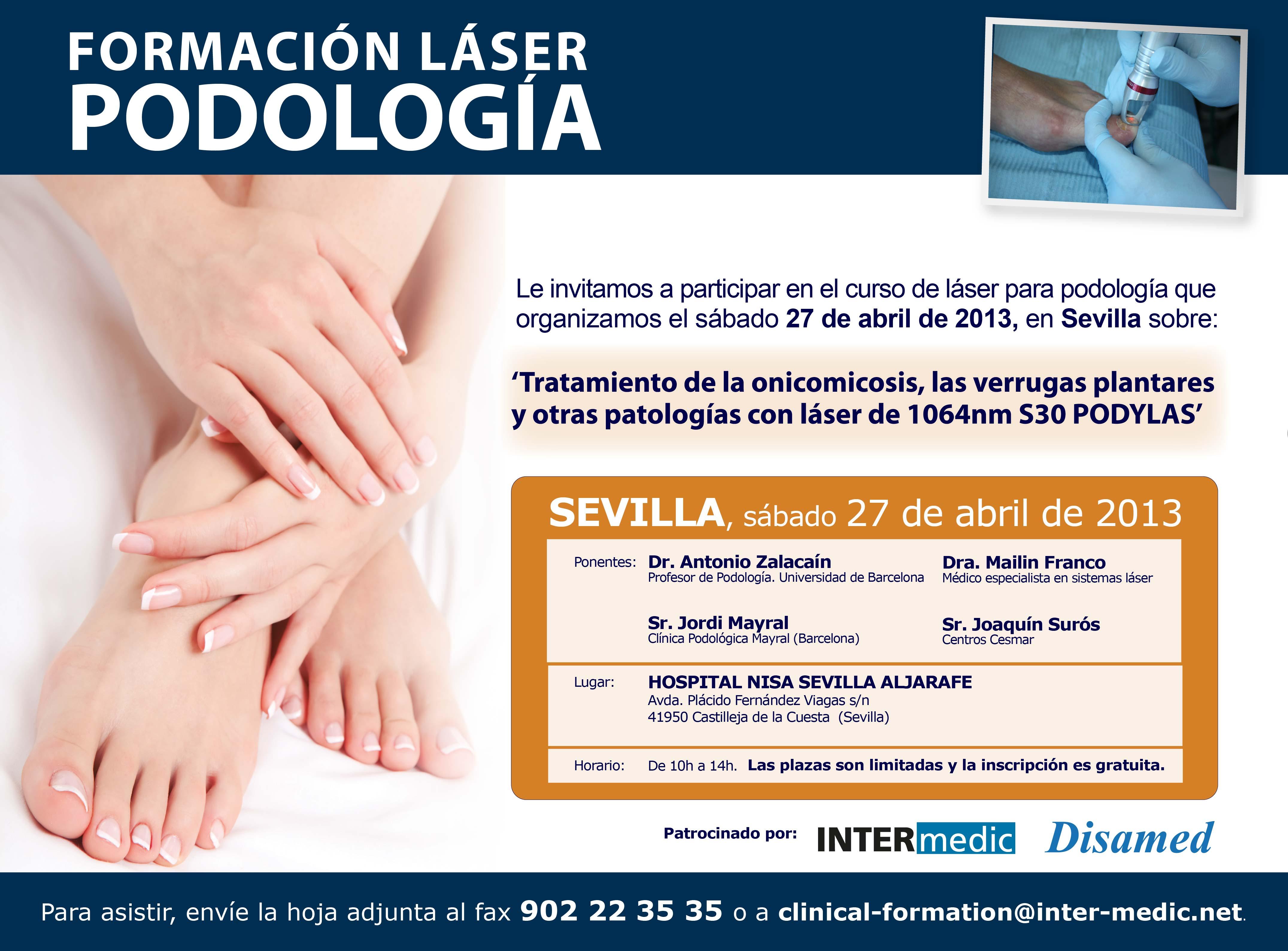 Curso Podologia Sevilla