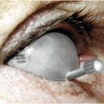 Protector oculares con adhesivo