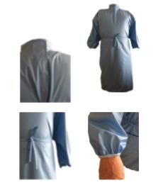 Bata reutilizable y esterilizable